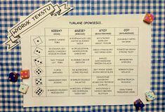 Wyturlaj sobie opowieść! Learn Polish, Story Cubes, Polish Language, Early Education, Creative Writing, Kids And Parenting, Preschool, Classroom, Teacher