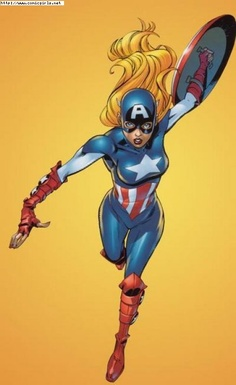 Female Captain America