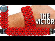 DIY Paracord Armband The Victor World of Paracord Wie man Paracord Armband The Victor macht - Diy Paracord Armband, Paracord Bracelet Designs, Paracord Knots, Bracelet Knots, Paracord Projects, Paracord Bracelets, Paracord Ideas, Survival Bracelets, Paracord Bracelet Instructions