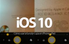 #iphone  #geek iOS 10: Cómo usar la función lupa en iPhone y iPad…   BTW, Also check out these iPad and iPhone Tips and Tricks:  http://www.universalthroughput.com/interest/index.php?item=533