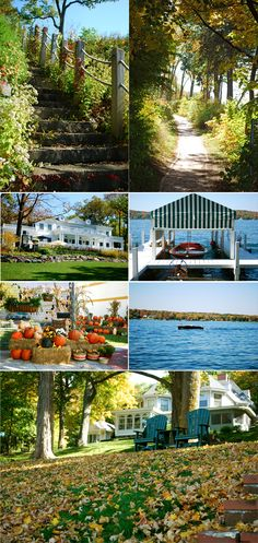 Lake Geneva, Wisconsin :) My grandma spent her summers here, not far from her childhood home in Williams Bay. Hope to visit someday.