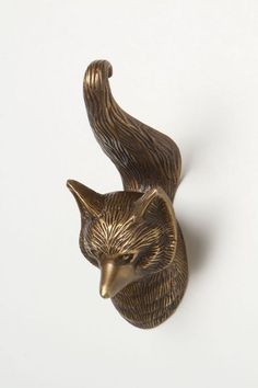 Fox Forestry Hook - anthropologie.com