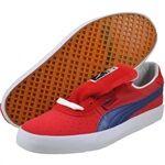 PUMA Mens GV Vulc Low City Red fashion sneakers   35383904
