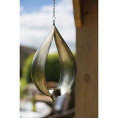 Hanging Tear Drop Tea Light Holder
