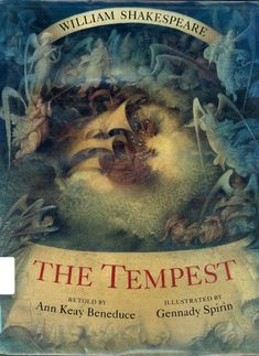 William Shakespeare - The Tempest, illustrated by Gennady Spirin