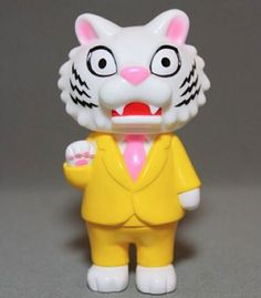 Tiger Boss!!! New sofubi figure from Max Toy Co. Javier Jimenez & Cristina Ravenna!!!