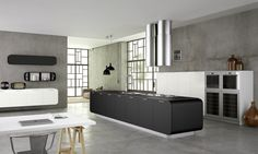 Numerouno Kitchen System by Doimo