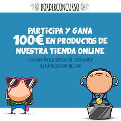 Gana 100€ en productos de Missborderlike