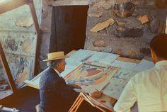 10 Famous Creators' Little-Known Art in a Surprising Medium | Brain Pickings.Frank Lloyd Wright