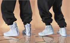 每周鞋报:全新纯白色调 Virgil Abloh x Air Jordan 1 曝光;2 Chainz x Versace 推出厚底老爹鞋   理想生活实验室 - 为更理想的生活