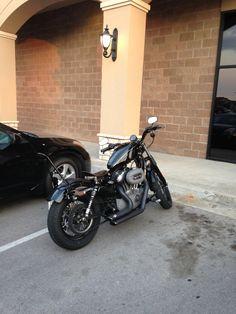 Harley Davidson Sportster XL1200N Nightster Bobber