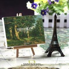 LAVERTON艺术家希施金 30张盒装油画风景明信片卡片 手绘diy贺卡-淘宝网