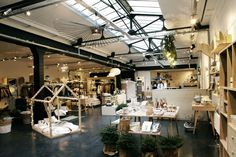 Smallable 81 rue du Cherche-Midi, Paris, premier point de vente physique, le 20 novembre 2015.