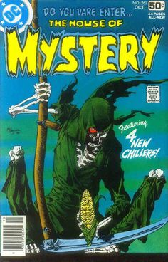 House of Mystery# 261. Art by Mike Kaluta. #HouseOfMystery #MikeKaluta