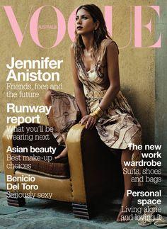 Jennifer Aniston Australian Vogue  March 2004
