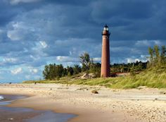 Loving those lighthouses! Michigan has more than one hundred, many of them open to tour and climb the tower. There are even a few you can book for your bed and breakfast stay!