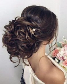 Bridal Hairstyles Inspiration : Elstile Long Wedding Hairstyle Inspiration #BridalHairstyle