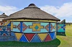 Image result for african house painting
