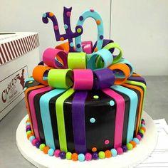 Colorful Birthday Cake By Buddy Valastro Boss