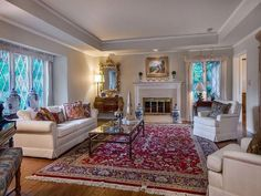 Living Room – Formal Living Room – Oriental Rug – Leaded Glass – White – Silicon Valley Real Estate Source by arthursharifsir Formal Living, Oriental Rug Living Room, Living Room Decor, Living Room Carpet, Home, Formal Living Rooms, Living Room Remodel, Oriental Carpet Living Room, Persian Carpet Living Room