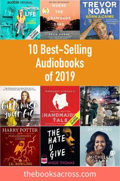 10 Best-Selling Audiobooks in February 2019 - The Books Across New Books, Good Books, Books To Read, Reading Lists, Book Lists, Best Audiobooks, The Daily Show, World Of Books, Reading Challenge
