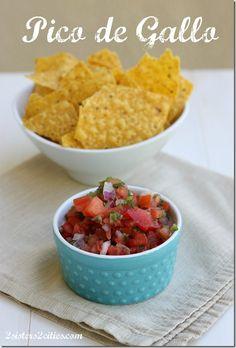 Super Bowl Appetizer Recipe: Pico de Gallo {from 2 Sisters 2 Cities}