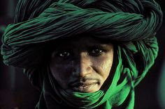 Africa |  Tuareg man photographed in Niger | ©Luciano Bovina