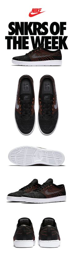 SNKRS OF THE WEEK // The NikeCourt Tennis Classic Ultra Flyknit brings fresh movability to a classic tennis silhouette. Stay light and comfortable for any off-court style. Nike Free Shoes, Nike Shoes Outlet, Running Shoes Nike, Buy Shoes, Me Too Shoes, Sneakers Fashion, Sneakers Nike, Nike Free Runners, Roshe Shoes