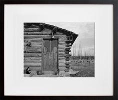 Log Home, Priest River Peninsula, Bonner County, Idaho