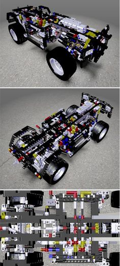 Underpan by catia_v4 was modeled using CATIA V5, but I'll bet that making a real one using LEGOs would be way more fun. I'd love to be able to play with it. All the mechanisms would keep me fascinated for hours!