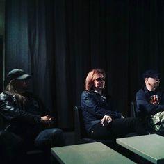 Europe press conference! #europe #europeband #alcatrazmilano #eightees #singer #tour #tourlife #rock #metal #music #instagood #myjam #photooftheday #goodmusic #instamusic #musicgram