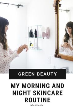 Truth be told, although it's a very common question asked of me, it's hard for me to consolidate a specific skincare routine for you all. Given that I spend so much time researching and trying skincare, my bathroom vanity is like revolving door…products in, products out, rinse and repeat. #routine #cleanbeauty #skincare