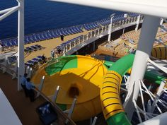 https://flic.kr/p/P3UiMn | Harmony of the Seas of Waterslide | Harmony of the Seas Inaugural Sailing