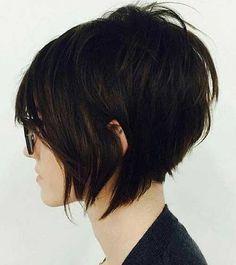 14. Empilés Bob Coupe de cheveux