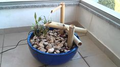 """After some research in the internet I finaly built my first Bamboo Fountain also known as Shishi Odoshi or deer scarer, seen on """"Kill Bill Bamboo Water Fountain, Water Fountain Design, Diy Fountain, Waterfall Fountain, Homemade Water Fountains, Indoor Water Fountains, Indoor Fountain, Garden Fountains, Japanese Garden Plants"""