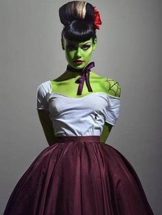 disfraz novia frankenstein mujer halloween