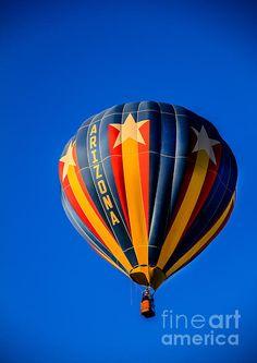 Arizona Balloon: See more images at http://robert-bales.artistwebsites.com/