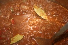 Homemade Stovetop No Bean Beef Chili - My Favorite!