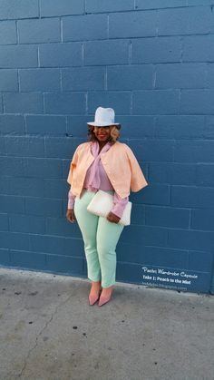 Spring Wardrobe Capsule: My Run In Pastels by @inmyjoi hosted by Already Pretty   Where style meets body image