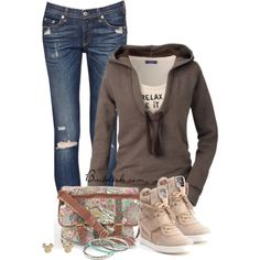 A fashion look from September 2014 featuring rag & bone/JEAN jeans, Ash sneakers and With Love From CA bracelets. Browse and shop related looks.