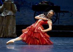Yolanda Correa as Kitri in Don Quixote, the Norwegian National Ballet 2011 Photoraph : Erik Berg