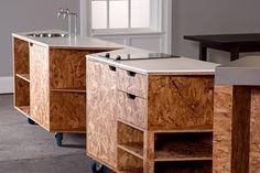 KAGADATO | RUSLAN KAHNOVICH selection. The best in the world. OSB design. **************************************Stranded - variable mobile kitchen on Behance