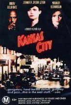 Kansas City, released in 1996 Directed by Robert Altman Starring - Jennifer Jason Leigh, Miranda Richardson, Harry Belafonte, Dermont Mulroney, Steve Buscemi...  Love, crime, race, politics in 1930's Kansas City...