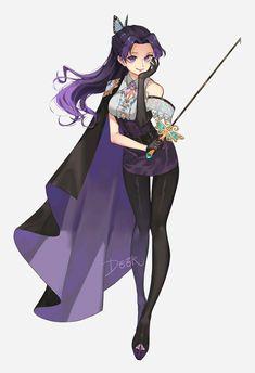 Demon Slayer, Slayer Anime, Kawaii Anime Girl, Anime Art Girl, Anime Demon, Manga Anime, Chibi, Kochi, Anime Outfits