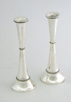 Amazing Candlesticks handmade 925 sterling silver