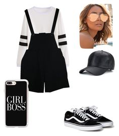 """""""Untitled #40"""" by desireelovesfashion on Polyvore featuring American Apparel, Quay and Casetify"""