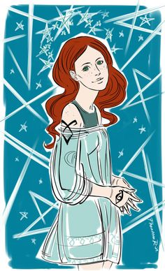 "Clary (""the Mortal Instruments"" by Cassandra Clare)"