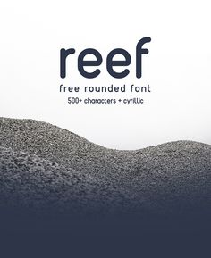 REEF | RIT creative - Free Round Font