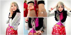 Fashion: 6 Gaya Hijab Seru Dalam Warna Merah Menyala | Vemale.com