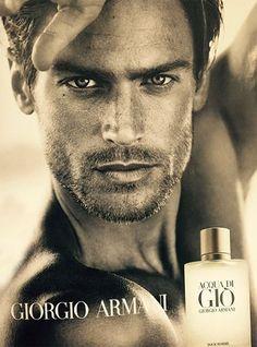 First Look: Giorgio Armani Acqua Di Gio Fragrance Campaign Featuring Jason Morgan